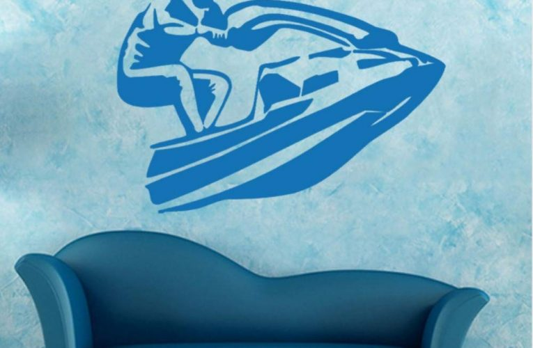 Les stickers de jet ski